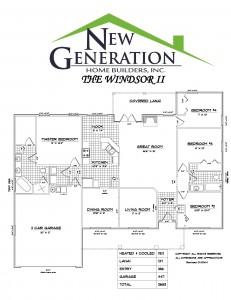 Windsor II Floor Plan